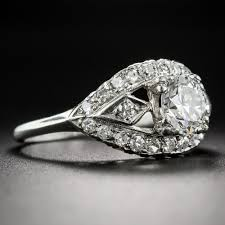 Difference Between Engagement Ring And Wedding Ring by 90 Carat Vintage Diamond Engagement Ring Circa 1950 U0027s