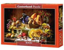 puzzle cuisine treasures of nature castorland puzzle 1000 pcs tactic