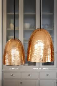 Hammered Copper Pendant Light Dunlin Home Stanley Hammered Copper Pendant