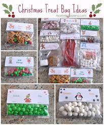 christmas treat bag ideas ten creative examples new teachers