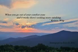 Seeking Zone Weekly Quote Seeking Satisfaction Beyond My Comfort Zone The