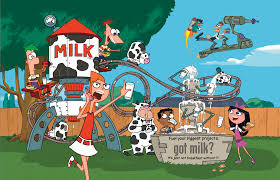 Phineas And Ferb Backyard Beach Game Image Phineas And Ferb Got Milk Ad Png Phineas And Ferb Wiki