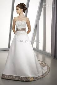 white and grey wedding dress wedding dresses with gray accents wedding dresses
