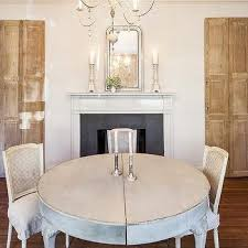 White Washed Kitchen Table by French Whitewashed Dining Table Design Ideas