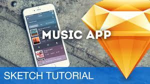 sketch 3 tutorial u2022 music app ios u2022 sketchapp tutorial u0026 design