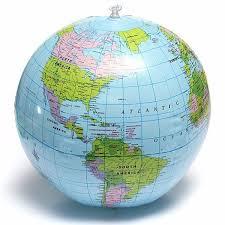 globe earth maps 38cm world globe earth teaching geography map