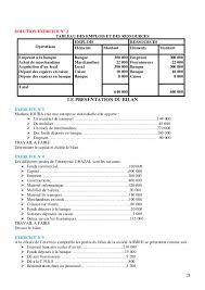 plan comptable fourniture de bureau comptabilite generale cours exercices corriges