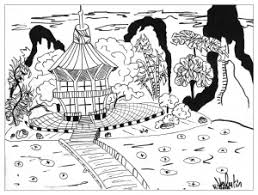 mature coloring pages japan coloring pages for adults justcolor