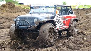 rc jeep for sale rc adventures stuck mudding in a jeep jk 4x4 rigid industries