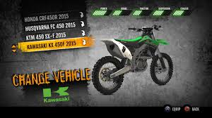 motocross vs atv 2015 kawasaki kx450f mx on ps4 official playstation store uk
