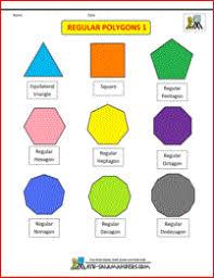 printable geometry worksheets