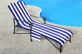 Chaise Lounge Terry Cloth Covers Pool Side Lounge Chair Chaise Cover 1000 Gram With 10 Inch Slip On