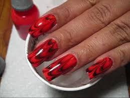 halloween spider web water marble nail art tutorial youtube