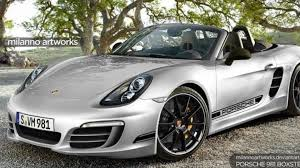 porsche r porsche 981 boxster r rendered u0026 speculated