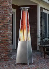 Pyramid Patio Heaters Stainless Steel 40 000 Btu Pyramid Patio Heater U2013 Chavie U0027s Nook