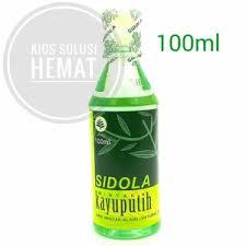 Minyak Kayu Putih Sidola 100 Ml jual minyak kayu putih sidola 100ml kios solusi hemat