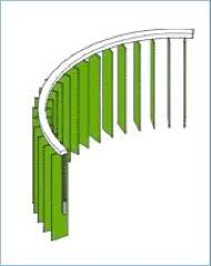 Vertical Blind Head Rail Blindshapers Manufacturers Of Shaped U0026 Curved Vertical Blinds