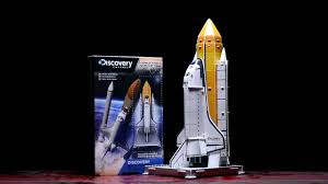 discovery channel build your own 3d space shuttle paladone youtube
