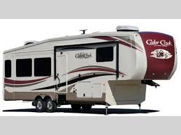 cedar creek hathaway edition fifth wheel rv sales 10 floorplans