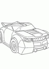 bumblebee car coloring pages kids printable free rescue bots