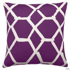 Purple Decorative Pillows Home Design Covers And Silver