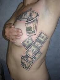 bill designs dollar bill tattoos hundred dollar bill