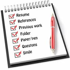 What To Put On A Babysitting Resume 7 Things To Take On A Job Interview Snagajob