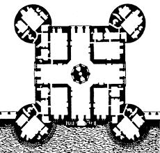 20 medieval castle floor plan european castle 54012lk