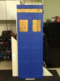 how to build a tardis door stevescape