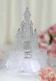 cinderella castle cake topper rhinestone quinceañera sweet sixteen cinderella castle cake toppers