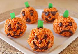 rice crispy treat pumpkins pumpkin rice crispy treats recipe