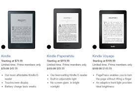 is kindle android prime deal taking up to 50 kindle e readers android