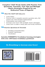 pass the caat complete canadian achievement test study