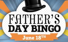 s day bingo cyberbingo fathers day bingo june 2017