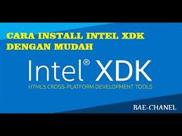 membuat aplikasi android dengan intel xdk cara install intel xdk dengan mudah youtube