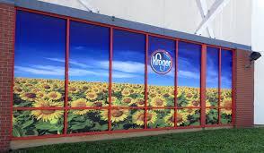 window posters polypropylene posters mounted window display printing