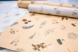 botanical wrapping paper premier press on kgrizzly designed these beautiful