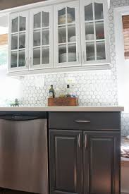 Kitchen Backsplash Ideas On A Budget Interior Beautiful Vinyl Tile Backsplash Kitchen Backsplash