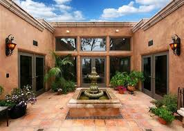 spanish courtyard designs courtyard homes house plans with courtyards for in and spanish