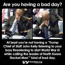 trump has been waiting and wanting to wage a nuclear war with n