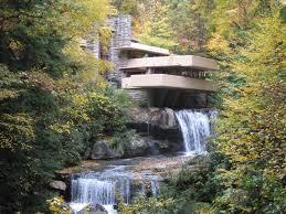 frank lloyd wright waterfall 75 aniversario casa kaufmann frank lloyd wright architecture