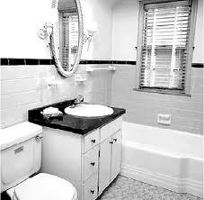 accessories terrific black and white bathroom ideas retro
