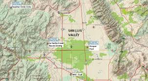 Colorado Hunting Units Map by Fly Colorado La Garita Creek Ranch