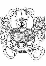 coloring pages for birthdays printables holiday coloring pages printable fresh happy birthday drawing cards