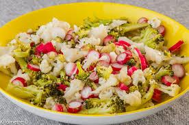 recette cuisine facile rapide photo de recette de salade brocolis chou fleur radis facile