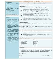 Cover Letter For Chartered Accountant Cover Letter For Fresher Chartered Accountant Professional