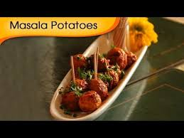 masala baby potatoes starter for thanksgiving recipe by