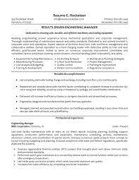 Best Engineer Resume by Electrical Maintenance Engineer Resume Doc Resume For Your Job