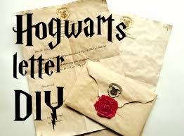 diy hogwarts letter harry potter tutorial youtube