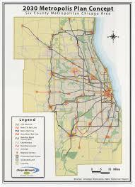 Metra Rail Map 3 5 16 2003 U00272030 Metropolis Plan U0027 From Chicago Metropolis 2020